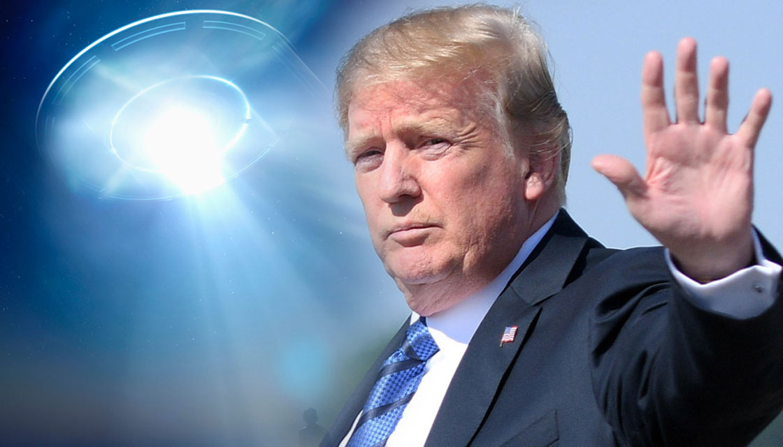 Trump 'not particularly' convinced UFOs are real | Newshub