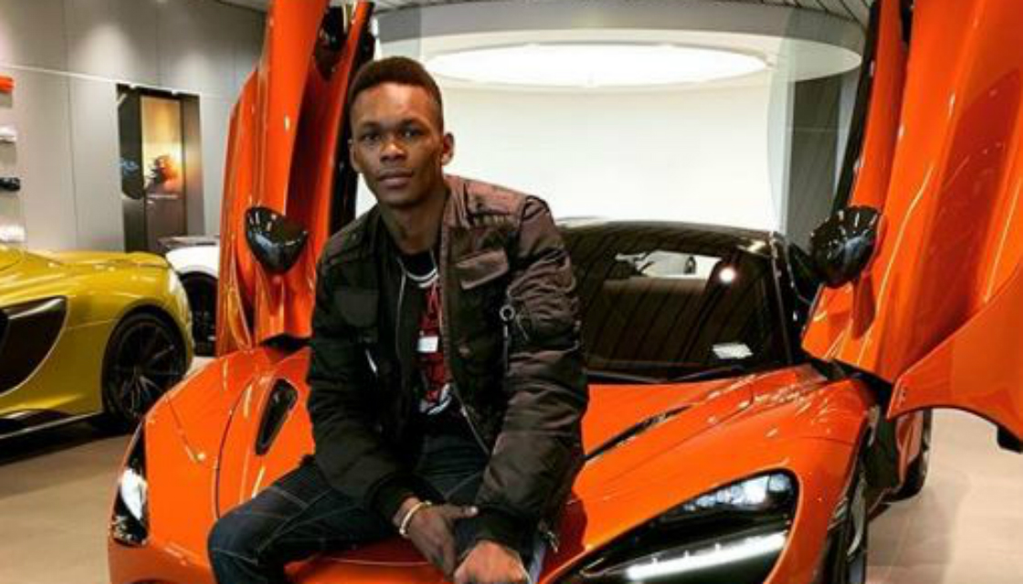 UFC Israel Adesanya compared new McLaren to spaceship