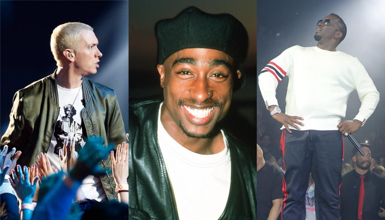 P-Diddy responds to Eminem's accusation he killed Tupac on