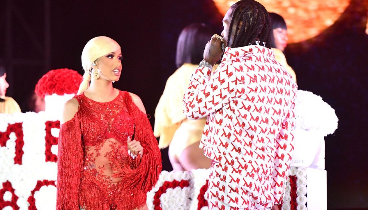 Cardi B Explains Why Her Baby Is Named Kulture On Twitter: Offset Explains Why He Crashed Cardi B's Concert To