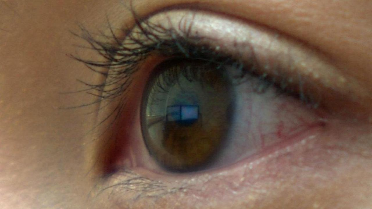New software allows the physically disabled to click with their eyes