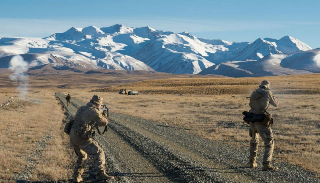 New Zealand News Picture: New Zealand Soldier Suffers Gunshot Wound To Shoulder
