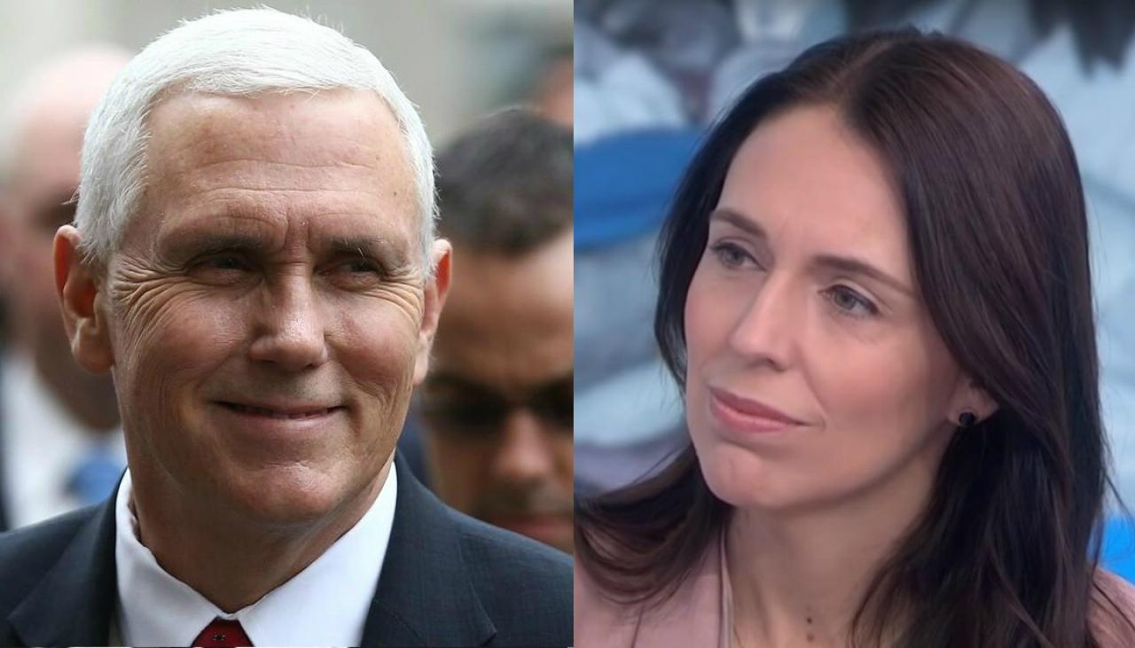 US Vice President Mike Pence requested to sit next to Jacinda Ardern at ASEAN summit
