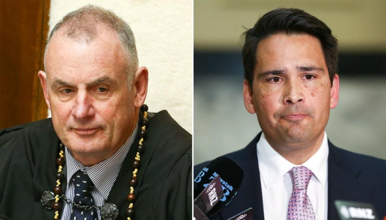 Simon Bridges accuses Speaker of acting 'outside of his powers' over attacks ads ruling | Newshub