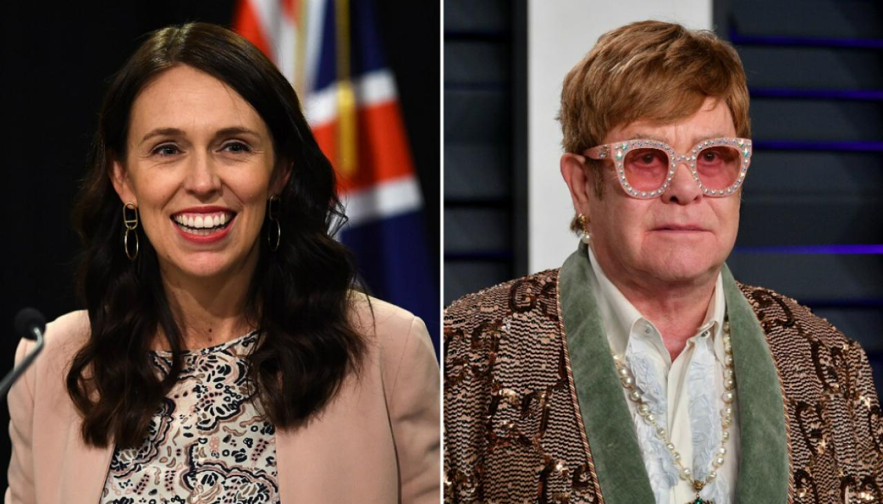 Jacinda Ardern 'humbled' and 'flattered' by Sir Elton John's professed admiration of her | Newshub