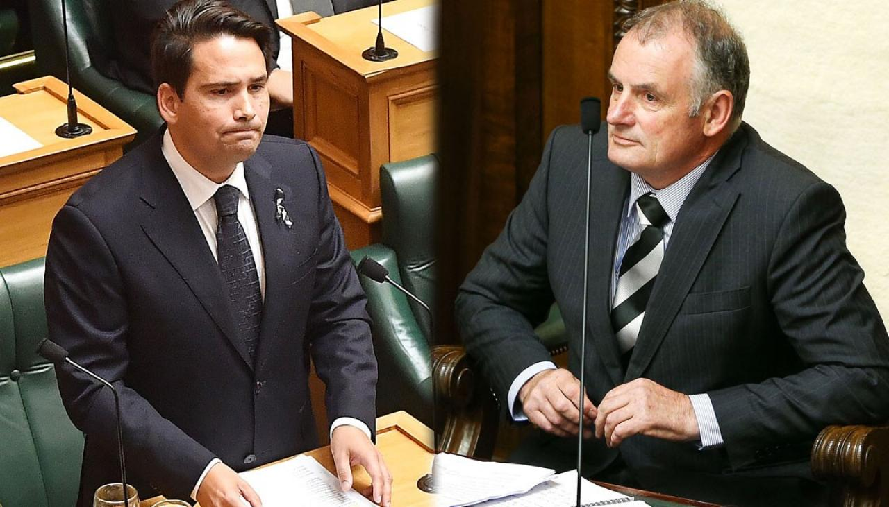 MPs laugh as Speaker Trevor Mallard tells Simon Bridges who he reminds him of | Newshub
