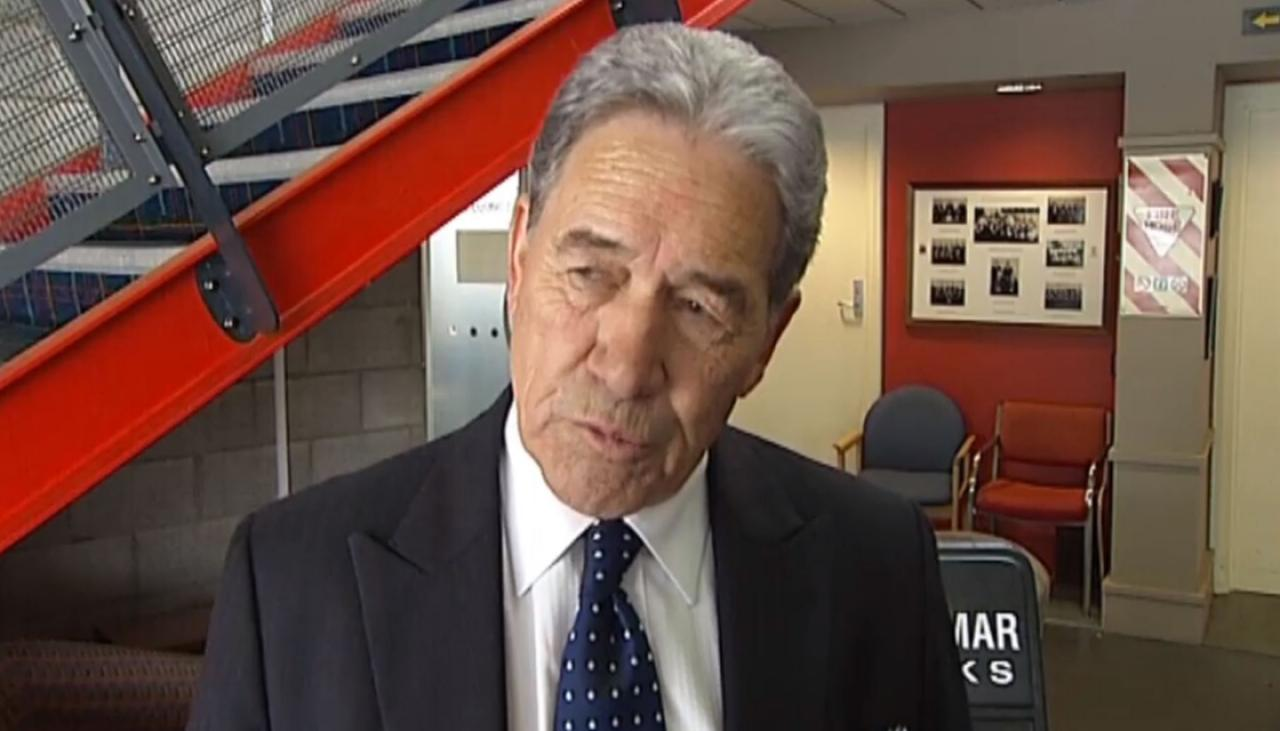 Winston Peters lashes out at reporter for probing NZ First-linked company's dealings | Newshub