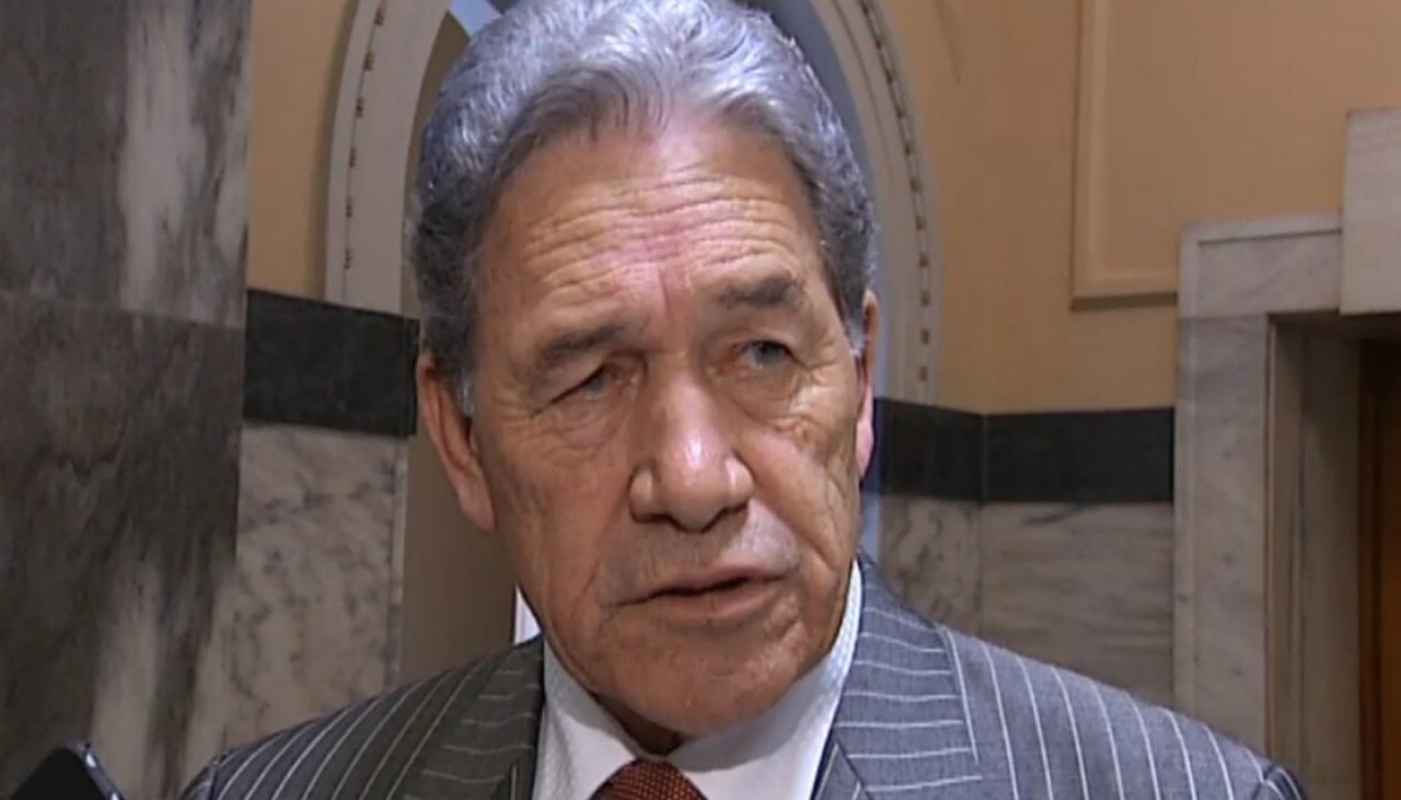 Winston Peters lashes out at social media's freedom to 'ruin people's reputations' | Newshub
