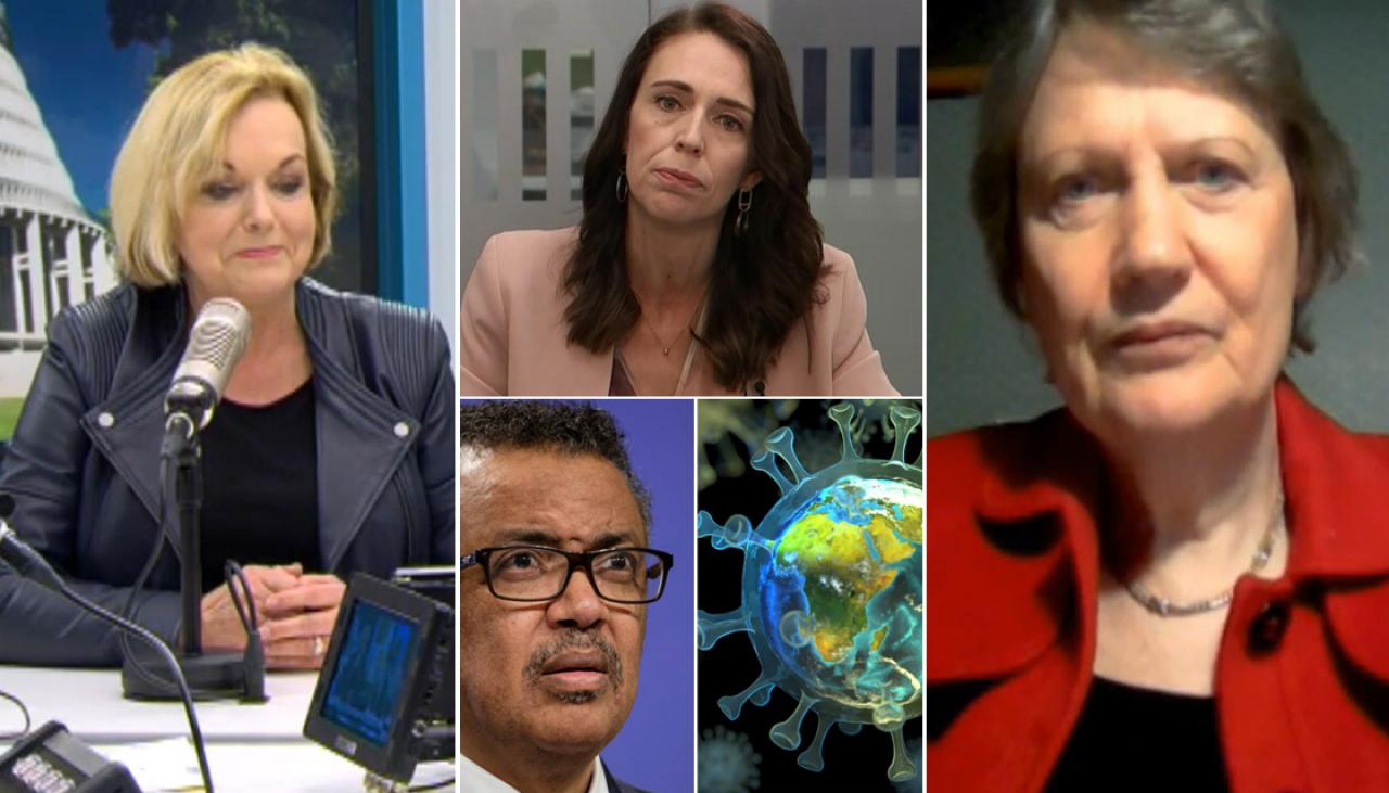 COVID-19: Judith Collins throws support behind Helen Clark's World Health Organization role, says 'Jacinda Ardern's given her nothing to do'