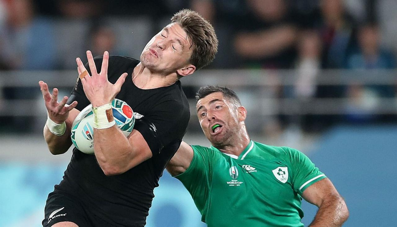 Rugby World Cup 2019: All Blacks make statement by thumping Ireland | Newshub