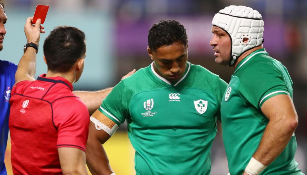 Rugby World Cup 2019: Ireland brush aside Samoa to advance to quarter-finals | Newshub