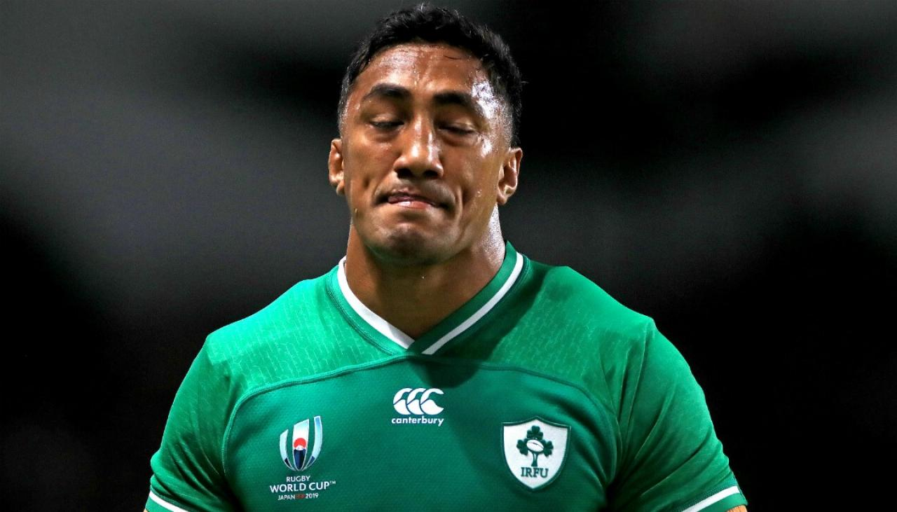 Rugby World Cup 2019: Ireland centre Bundee Aki suspended for three games following red card tackle | Newshub
