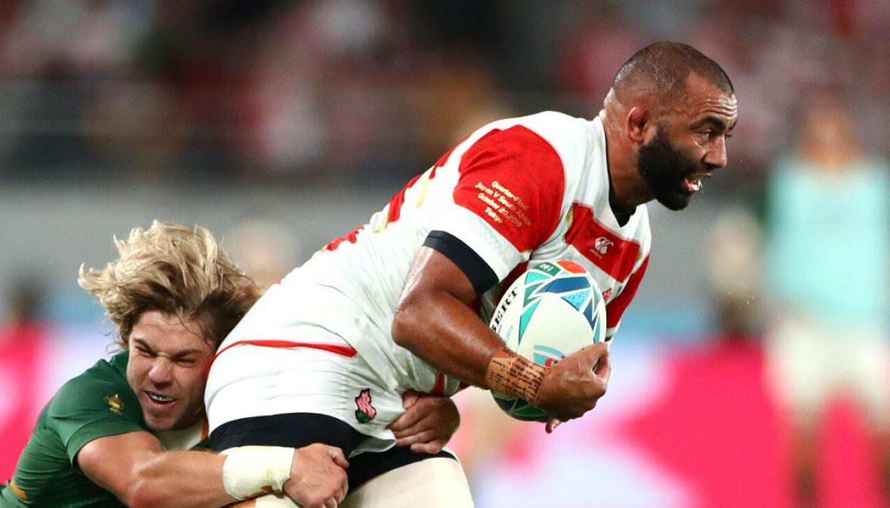 Rugby World Cup 2019: Live updates - South Africa v Japan | Newshub