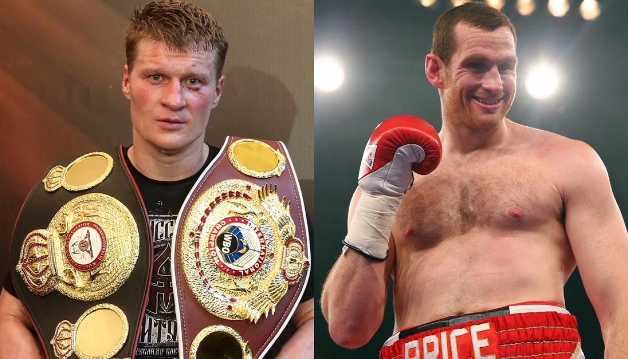 Heavyweights David Price And Alexander Povetkin To Fight