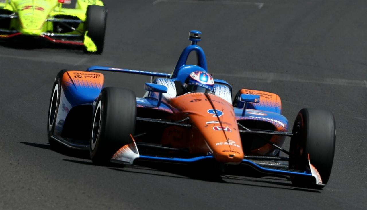 Indycar: Scott Dixon scores milestone victory at Detroit Grand Prix | Newshub