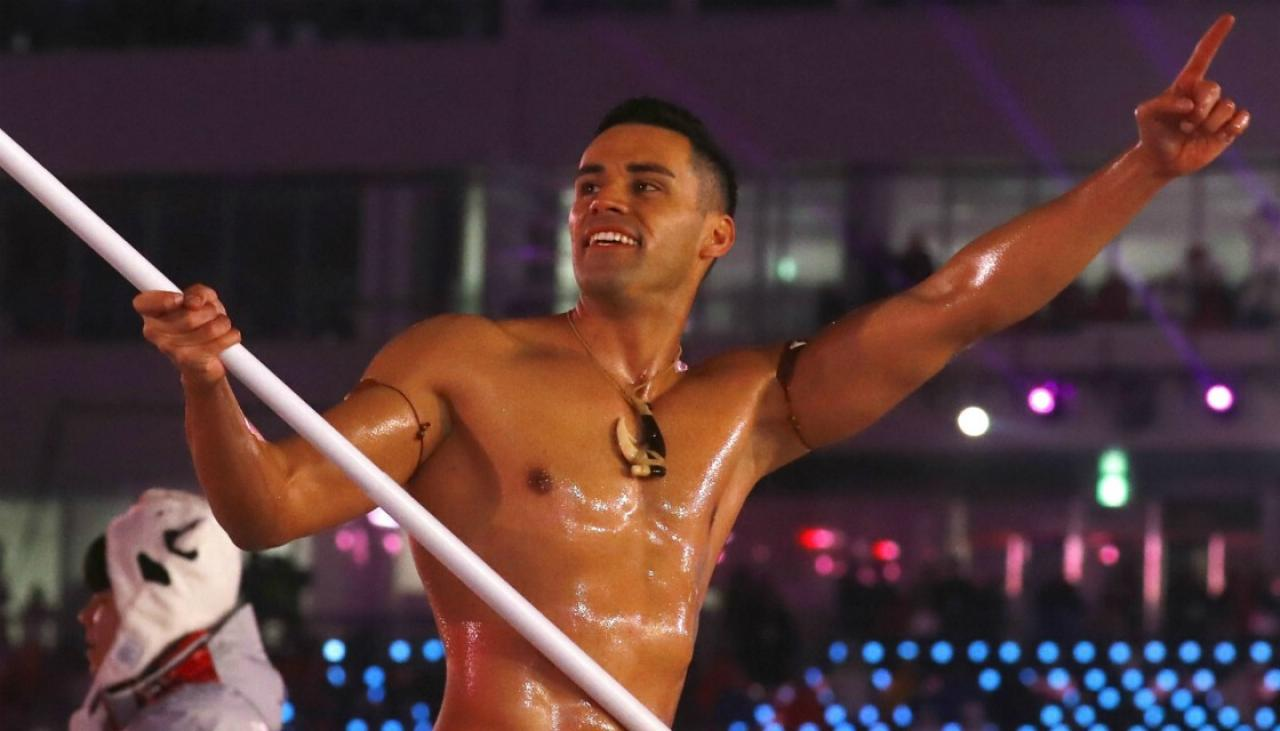 Olympics: Tongan flag-bearer Pita Taufatofua sets sights on Tokyo