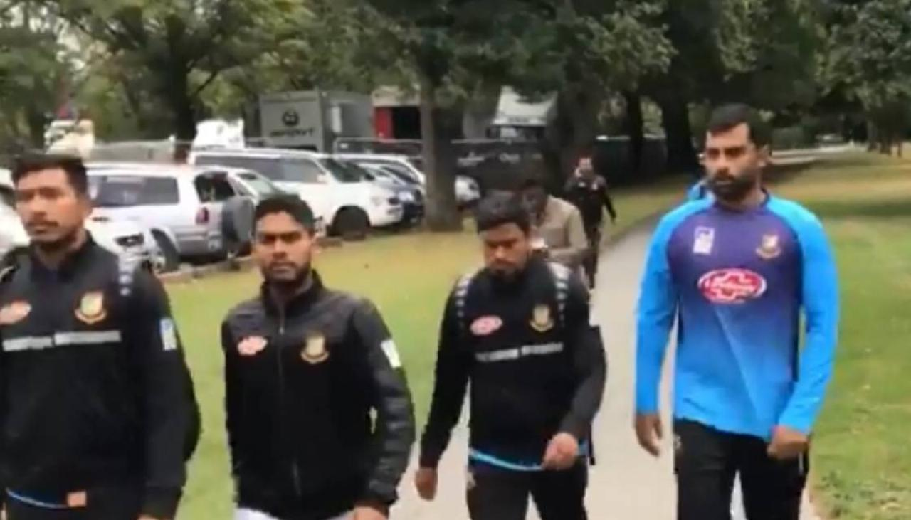 Shooting In Christchurch Video Twitter: Flipboard: Bangladesh Cricket Team Escape Christchurch