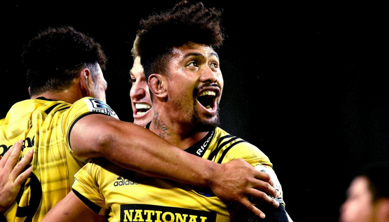 Super Rugby 2019 Beauden Barrett Jordie Barrett And