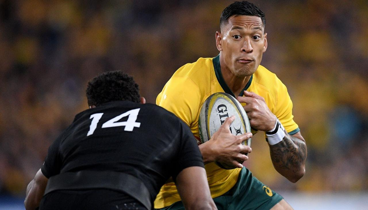 Rugby World Cup 2019: Coach Steve Hansen hopes Wallabies move on from Israel Folau