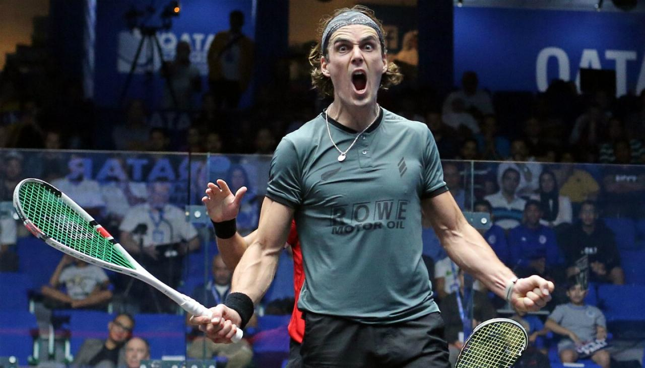 Squash: Kiwi Paul Coll closes in on world championship final | Newshub