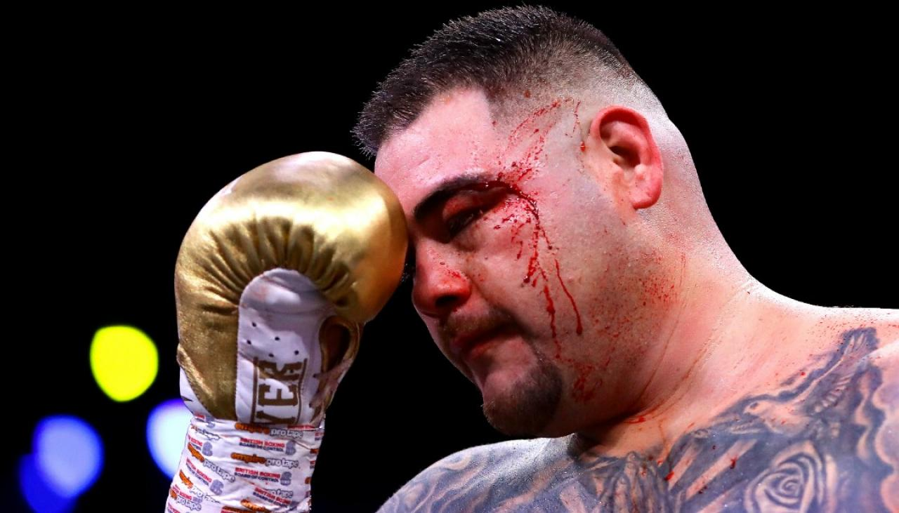Boxing: 'Out-of-control' Andy Ruiz dumps long-time trainer Manny Robles | Newshub
