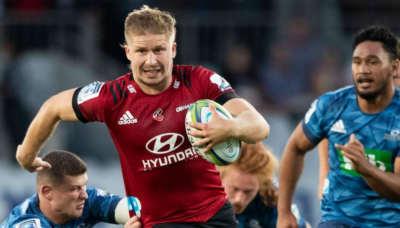 Super Rugby 2020: Crusaders breeze past limp Blues at Eden Park