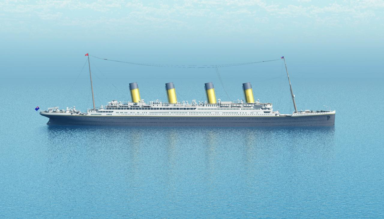 China S Full Scale Titanic Replica Is 1000km From The
