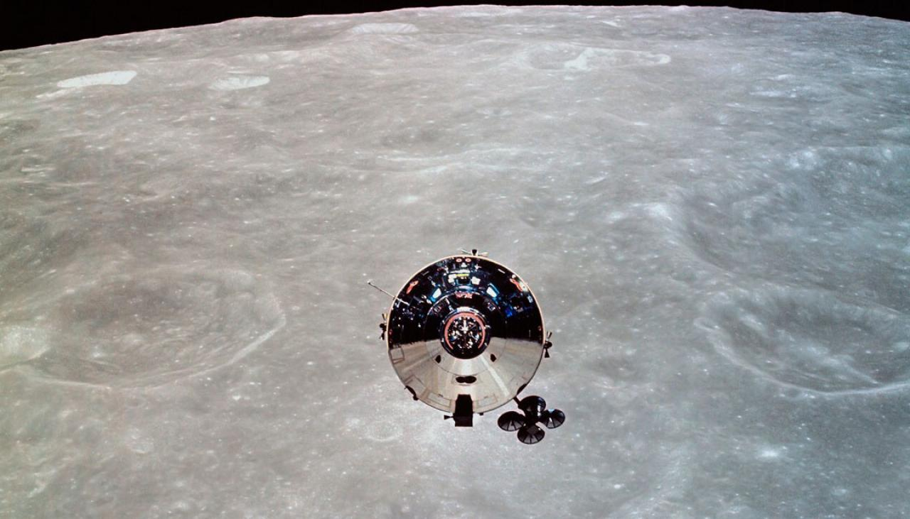Long-lost moon spacecraft may have been found floating in ...
