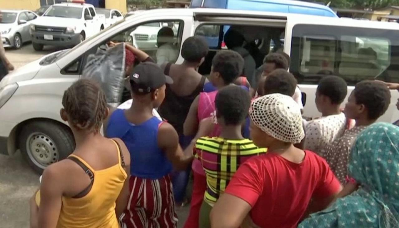 Young women and girls rescued from rape, impregnation in Nigerian 'baby factory' - Newshub