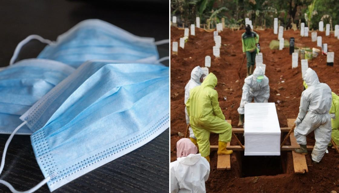 indonesia dig graves, <b> Indonesia&#8217;s &#8216;anti-maskers&#8217; forced to dig graves for COVID-19 victims </b>
